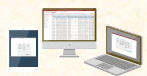 WEBシステム実績 伝票管理 顧客管理